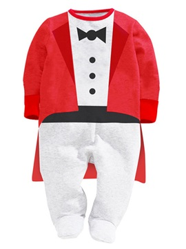 Little Gentleman Contrast Color Babys Clothing
