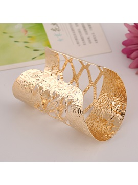 European Style Wide Alloy Bangle