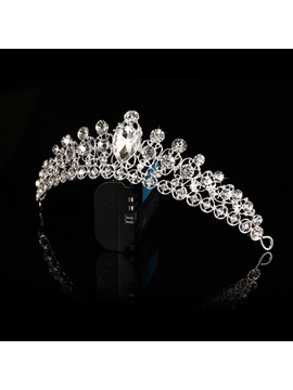 Stylish Crystal Clear Rhinestone Wedding Crown Wedding Tiara