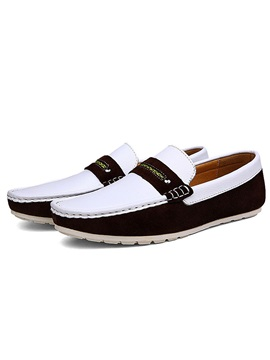 Thread Low Up Slip On Mens Shoes