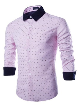 Slim Fit Long Sleeve Men Shirt