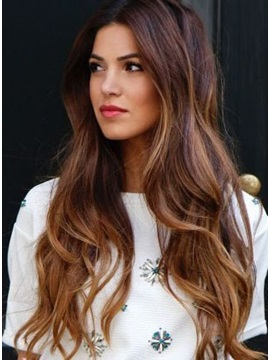 New Arrival Natural Wave 7pcs Clip In Human Hair Extensions