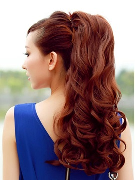 Long Deep Wave Synthetic Ponytail