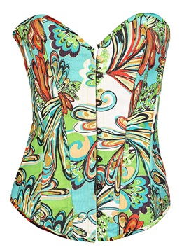 Top Quality Colorful Women Short Corset