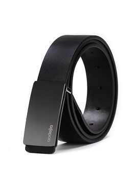 Pure Color Pu Mens Belt
