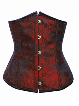 Beautiful Straples Graphic Women Short Corset