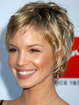 Stylish Short Straight Full Lace 100 Remy Human Hair Wig