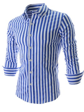 Hot Sale Fashion Striped Man Shirt