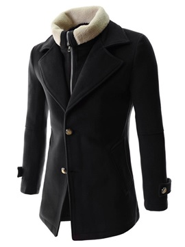 Casual Fashion Lapel Men Coat
