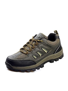 Air Permeable Mens Hiking Shoes
