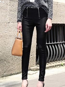Delicate Double Designed Skinny Leggings