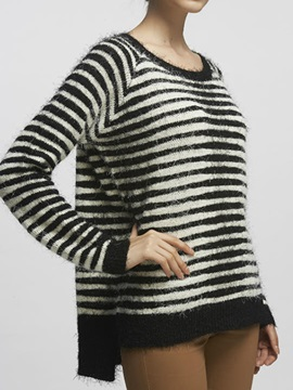Splendid Stripe Short Sweater