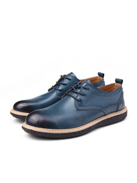 European Lace Up Pu Mens Shoes