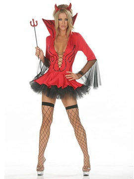 Sensual Falbala Women Witch Costume