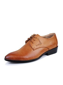 Studded Lace Up Mens Shoes