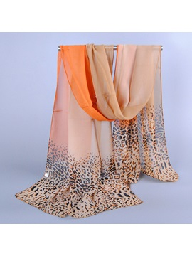 Leopard Grain Color Scarf