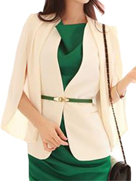 Fashion Sleeves Slim Blazer