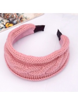 Woolen Yarn Decorated Hairband