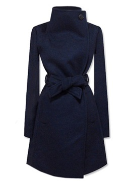 Chic Belt Slim Trench Coat