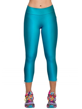 Slimming Zipper Designed Womens Leggings