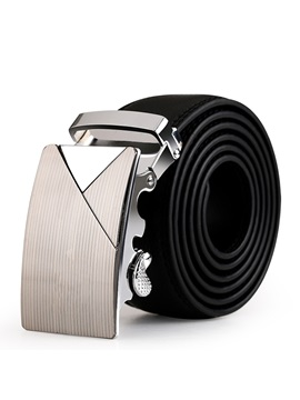 2015 Mens Automatic Buckle Leather Belt