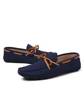 England Suede Slip On Mens Loafers