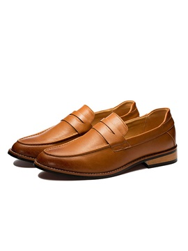 Pointed Toe Slip On Mens Loafers