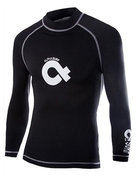 Mens Solid Color Long Sleeve Compression Fast Dry T Shirts