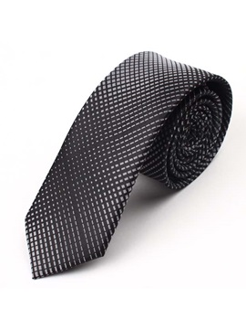 Gradient Plaid Necktie
