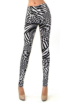 Digital Printing Elastic Leggings