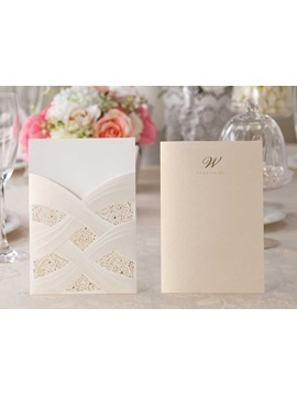 Classic Wedding Invitation Card For Sale 20 Pieces One Set