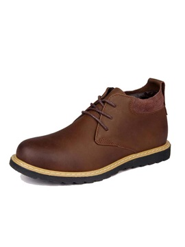 Round Toe Mid Cut Mens Boots
