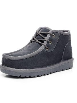 Purfle Suede Lace Up Mens Boots
