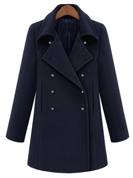 England Style Special Button Trench Coat