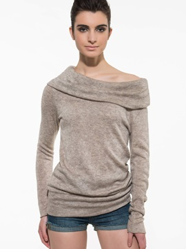 Splendid Slash Neck Slim T Shirt