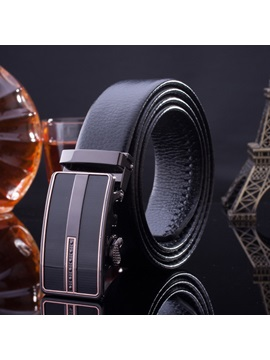 Handsome Embossed Mens Belt