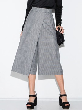 Elegant High Waist Wide Leg Pant