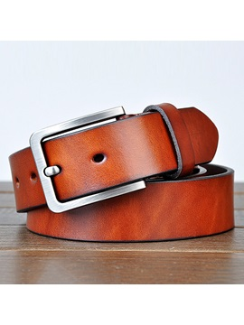 Casual Pin Buckle Mens Belt