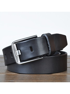 New Pin Buckle Pu Mens Belt