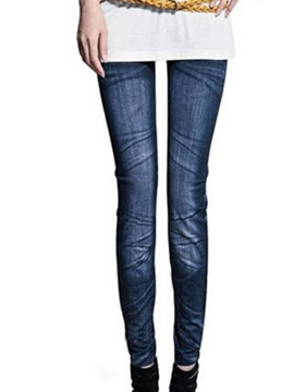 Skinny Leg Polyester Womens Leggings