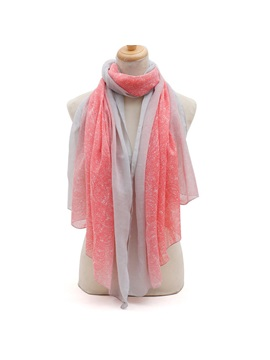 New Pattern Printed Womens Cotton Scarf