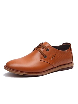 Breathable Lace Up Front Mens Casual Shoes