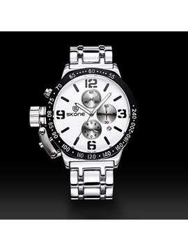 Casual Alloy Man Watch