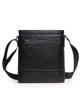 Weave Man Shoulder Bag