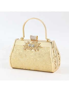 European Style Ol Diamond Women Evening Bag