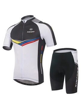 Full Length Zipper Cycling Jersey And Shorts