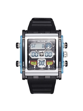 Water Resistant Analog Digital Sport Mens Watch