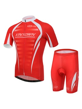 Athletic Fit Summer Cycling Jersey And Shorts
