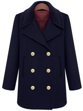 England Style Plus Size Trench Coat
