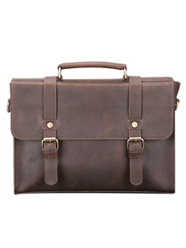 Retro Style Genuine Leather Men Bag
